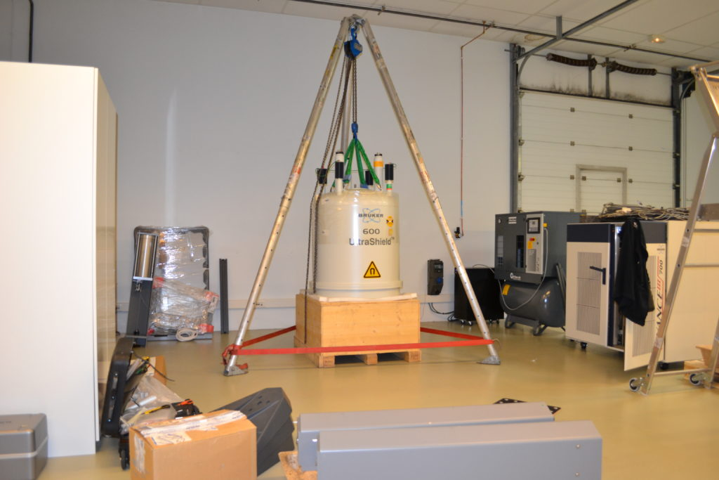 NMR_600_installation