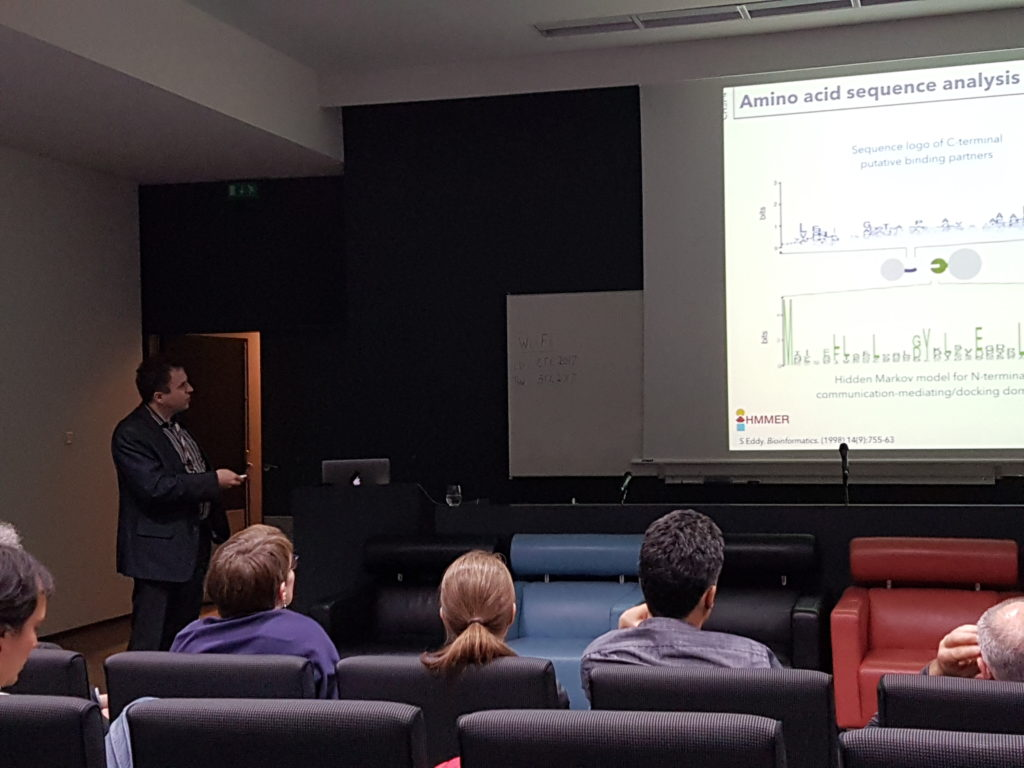 Seminar of Josef Lewandwoski at Loquetlab during the IECB REC day